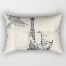 cat attack Rectangular Pillow