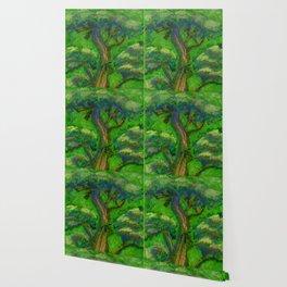 Bonsai Tree Green Wallpaper