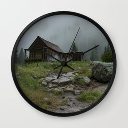 Finding a Respite in The Fog Wall Clock