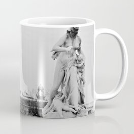 Eavesdropping at the Louvre Coffee Mug
