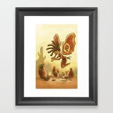 Goblins Drool, Fairies Rule! - Kokopelli Framed Art Print