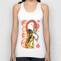 anaconda Tank Tops featuring Anaconda  by BlackForestArt