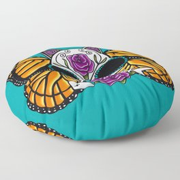 The Return of the Monarchs - Cat Floor Pillow