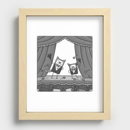 BRAVISSIMO CAT'N'BAT Recessed Framed Print