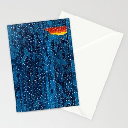 Alma Thomas, African American Portrait, Lucias Unity abstract painting Stationery Cards