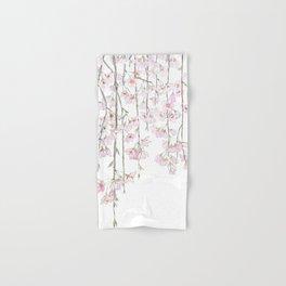 pink cherry blossom spring 2018 Hand & Bath Towel