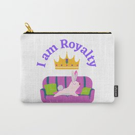 I am Royalty Carry-All Pouch