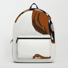 Geometric Bear - Abstract, Animal Design Backpack