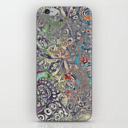 Octopus Rainbow iPhone Skin