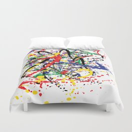 Pollock Remembered by Kathy Morton Stanion Duvet Cover