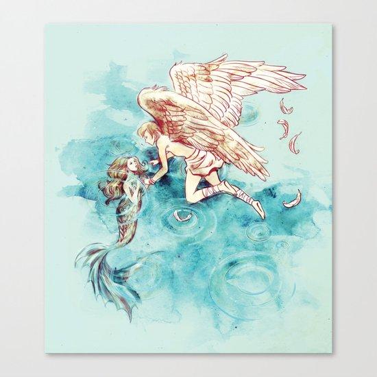 Star-cross'd Lovers Canvas Print