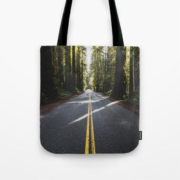 Redwoods Road Trip - Nature Photography Tote Bag