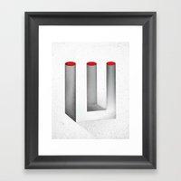 Optical Illusion no.2 Framed Art Print