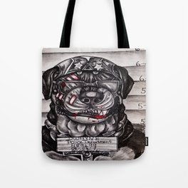 Dwayne's mug shot Tote Bag