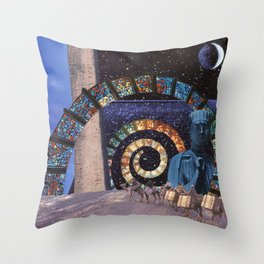 Planet X Pilgrimage Throw Pillow