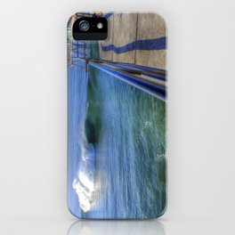 Southside Bowl Huntington Beach Pier iPhone Case