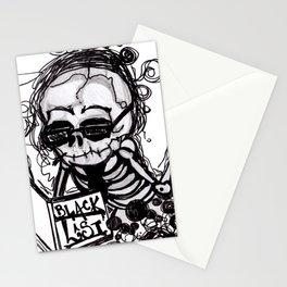 Dark Diary Stationery Cards
