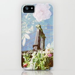 film double, manhattan bridge iPhone Case