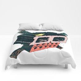 Brick Crossbones and a Bird Comforters