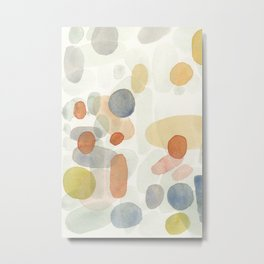 Whimsical abstract Metal Print