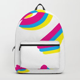 I really love your dimples (arabic) Backpack