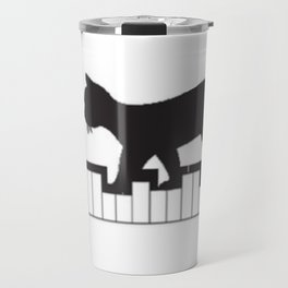 Piano Puss Travel Mug