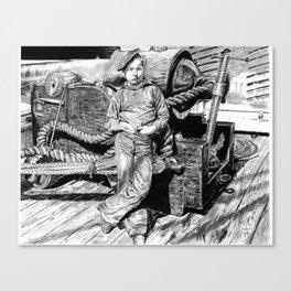 Powder Monkey Canvas Print