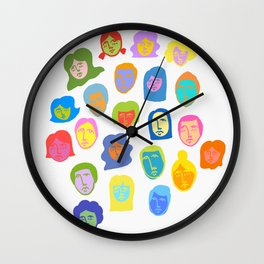 Everyday People Wall Clock