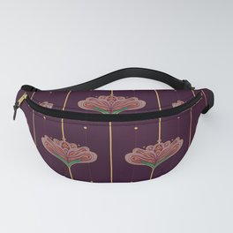 Wallpaper Floral Pattern In Style OF William Morris Fanny Pack