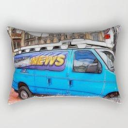News Hound Rectangular Pillow