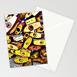 promise padlock Stationery Cards