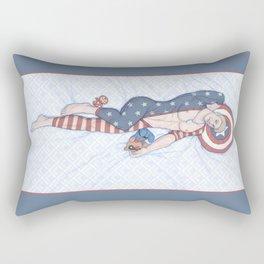 Steve Pinup Rectangular Pillow