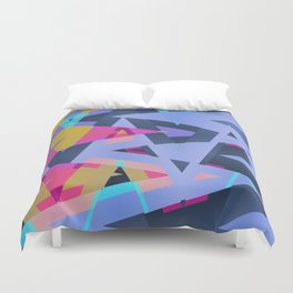 Triangle Round Up Duvet Cover