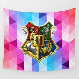 HOGWARTS ABSTRACT TRIANGLE Wall Tapestry