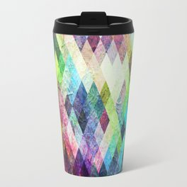 Diamond Bright Painted Design Travel Mug