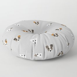 Jack Russell puppies Floor Pillow