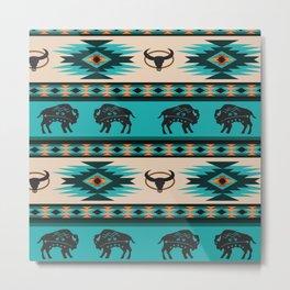 American Native Pattern No. 60 Metal Print