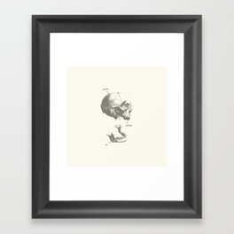 Words Escape Me Framed Art Print