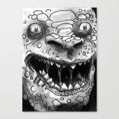 Rogues Gallery - Killer Croc Canvas Print