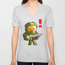 Halo Master Chief Kawaii Unisex V-Neck