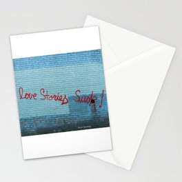 Love Stories Suck! Stationery Cards