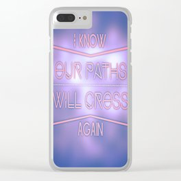 See ya later! Clear iPhone Case