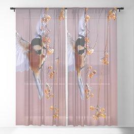 I am Hungry Sheer Curtain