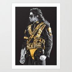 Dangerous - MJ Art Print