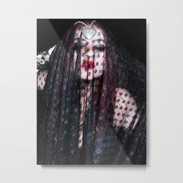 Mafia Bride Metal Print
