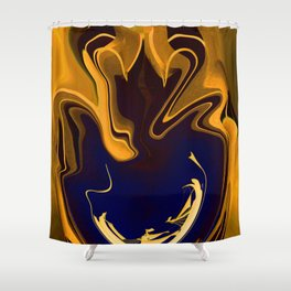 End of Armada Shower Curtain