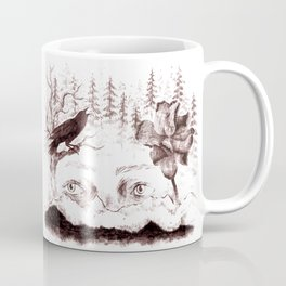 mountain eyes Coffee Mug