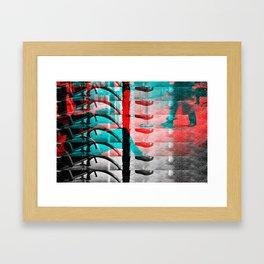 Irrecoverable Fragments - #5 Framed Art Print