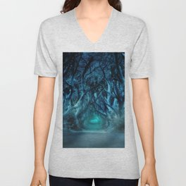 Magic forest Unisex V-Neck