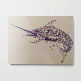 Fish of Skill Metal Print